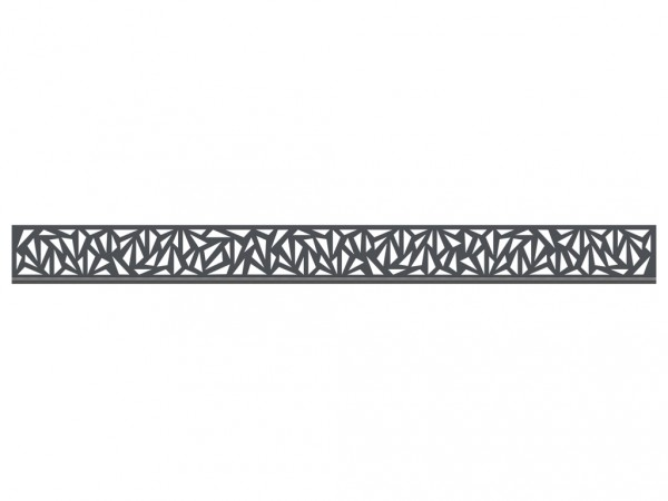 Einzelprofil SYSTEM Trigon flach