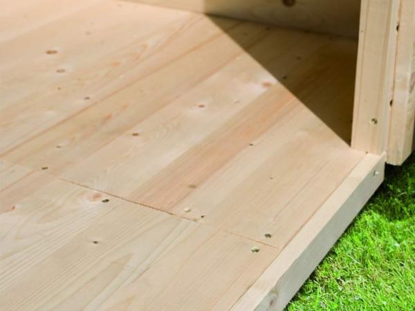 Fußboden passend für Sockelmaß 490 x 490 cm
