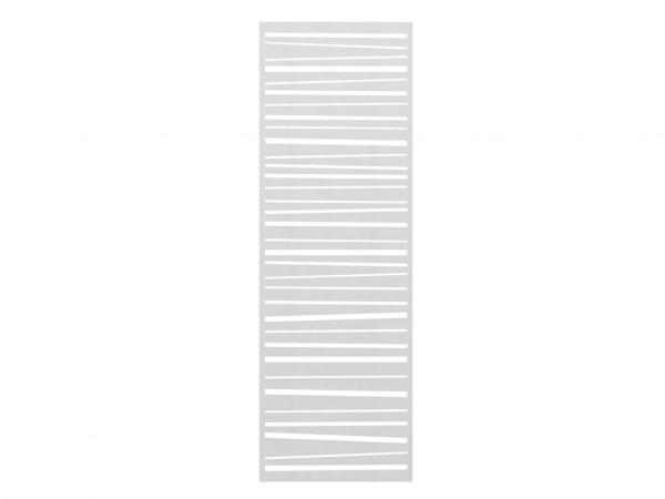 Sichtschutzzaun SYSTEM Gitter Linea Silber