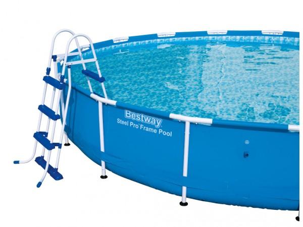 Sicherheitsleiter Leiter für Hochbeckenpools Pools Schwimmbad