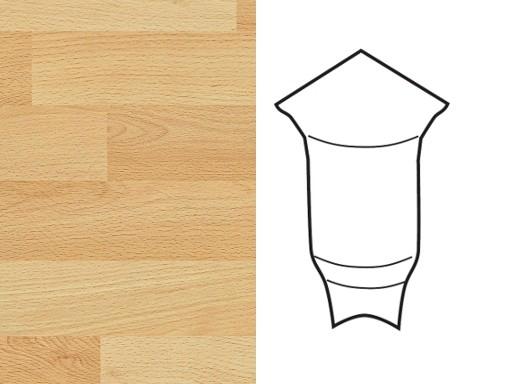 Innenecken für Sockelleiste Profil 1 1K 1 MK Buche 2011